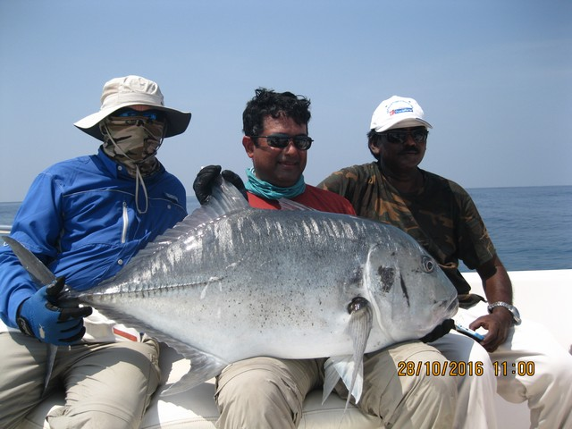 Sahadev and friends return to the Andamans: Oct 2016